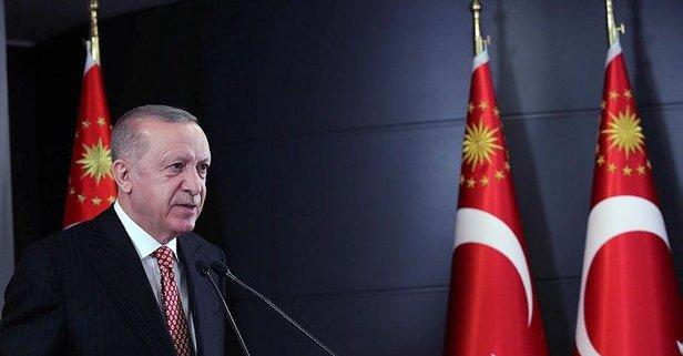 Erdoğan açıkladı: 3 aydan daha kısa sürede tamamladık