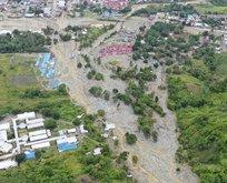 Endonezya'da sel felaketi! 24 bin kişi etkilendi