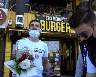 Nişanlıya çiçek pahalıya patladı