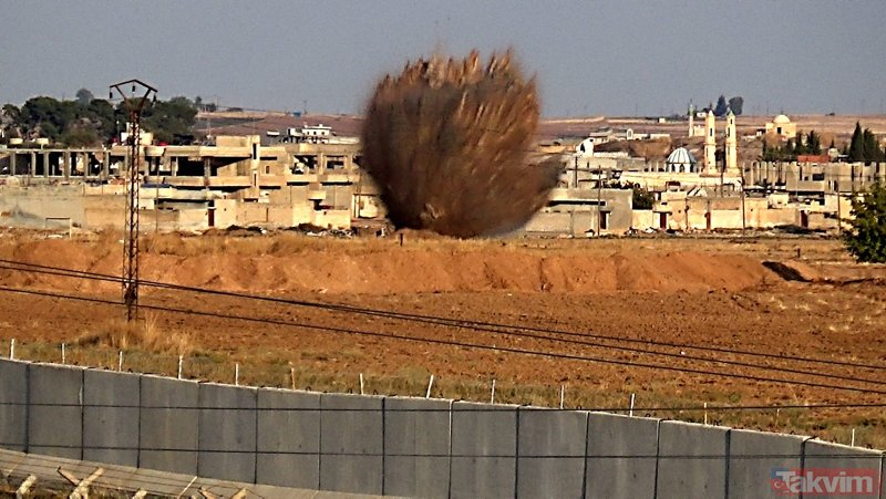 Rasulayn'da teröristlerin tuzakladığı 250 kilo patlayıcı böyle imha edildi