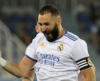 Real Benzema'yı uzattı