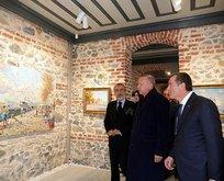 Başkan Erdoğan sergi açılışına katıldı