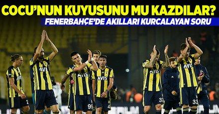 Fenerbahçe'de akılları kurcalayan soru! Cocu'nun kuyusunu mu kazdılar?