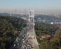 FSM Köprüsünde çalışmalar sona erdi