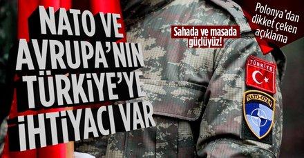 Polonya: NATO ve Avrupa'nın Türkiye'ye ihtiyacı var