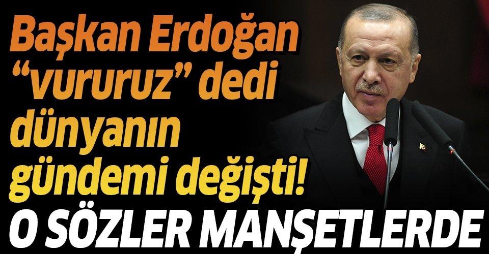 Son dakika: Başkan Erdoğan'ın