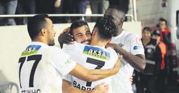 Akhisar Kayserispor'u tek golle devirdi