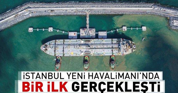 İstanbul Yeni Havalimanında bir ilk