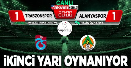 Trabzonspor - Alanyaspor | CANLI