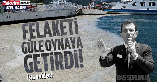 Marmara'nın ölümünde başrol oyuncusu olan Ekrem İmamoğlu Silahtarağa'daki temel atmama törenini büyük mutlulukla anlatmış! - Takvim