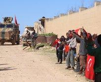 Türk askerini böyle karşıladılar!