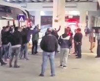 Bucalı futbolculara havalimanında silah çektiler!