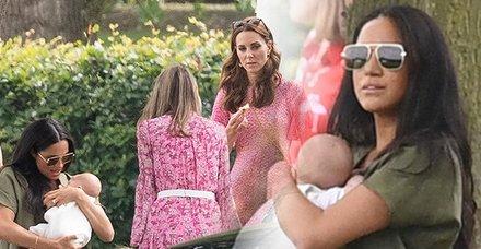 Dünya Meghan Markle'ı yerden yere vurdu 'Bu nasıl anne, utanç verici!'