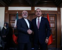 Bakan Çavuşoğlu, İran Dışişleri Bakanı Zarif ile görüştü