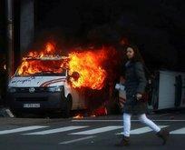 Avrupa'nın başkenti yanıyor