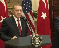 Erdoğan: Neden hala silah gönderiyor Trumpa soracağım