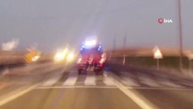 Diyarbakır'da teröristlerin tuzakladığı patlayıcı minibüsün geçişi sırasında infilak ettirildi