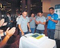 Pereira'ya sürpriz kutlama