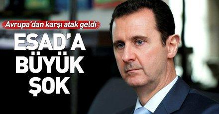 Son dakika: Esad'ın Avrupa'ya girişi yasaklandı