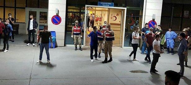 Siirt Pervari'de zırhlı araç devrildi! 8 asker yaralı