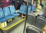 Şok görüntüler! Alkollü adam tramvayda hamile kadına saldırdı | Video