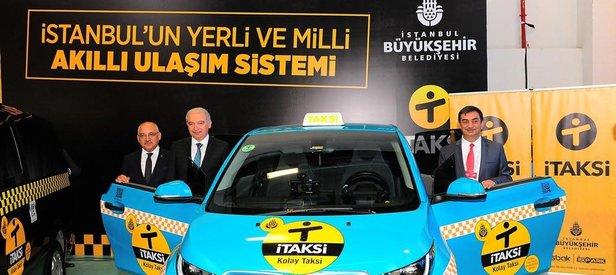 İstanbullu'ya iTaksi ile kolay ulaşım