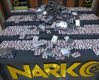 16 bin adet uyuşturucu hap ele geçirildi