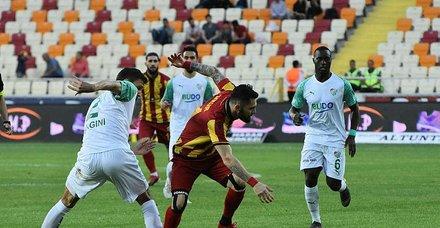 Yeni Malatyaspor - Bursaspor maç sonucu