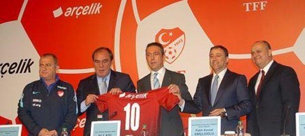 TFF ile Arçelik arasında sponsorluk anlaşması