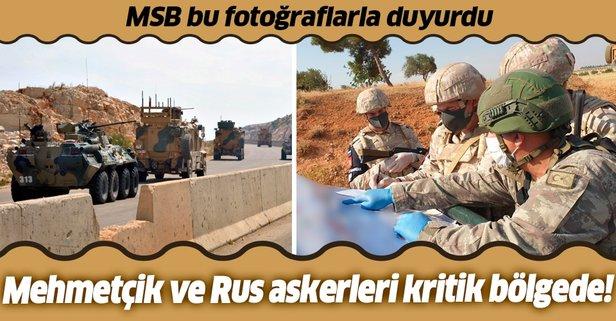 Türkiye ve Rusya'dan ortak devriye