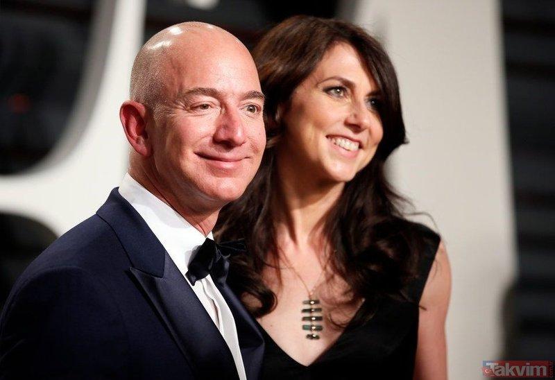 Rekor tazminat! Jeff Bezos ile Mackenzie boşandı...