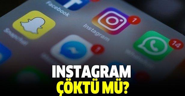 Instagram'da erişim problemi yaşanıyor!