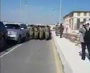 Somalili askerlerden Harbiye marşı
