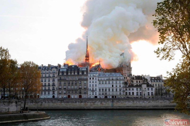 Notre Dame Katedrali yangınında terör şüphesi