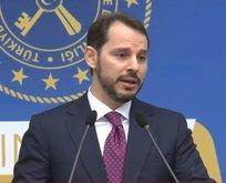 Hazine ve Maliye Bakanı Berat Albayraktan önemli açıklamalar