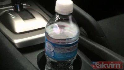 Arabada bırakılan şişeler bakın neye sebep oluyor!