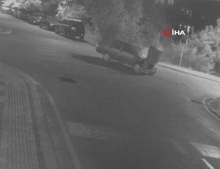 Antalya Manavgat'taki feci trafik kazası kamerada