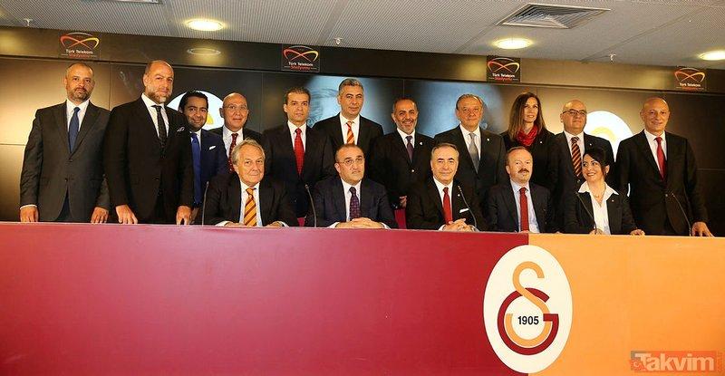 Galatasaray'da devre arası harekatı