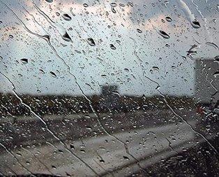 Meteoroloji saat verdi! Hafta sonu yağışlı geçecek!