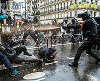 Macron'un polisleri dehşet saçtı