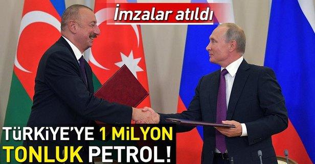 Türkiye'ye 1 milyon ton