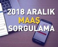 2018 Aralık ayı maaş bordroları yayınlandı