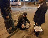 Taksiciden turiste taksimetre dayağı iddiası!