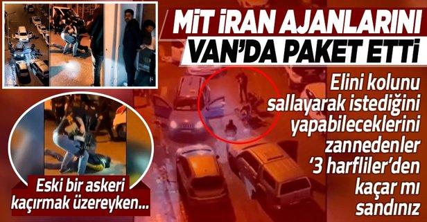 MİT'ten İran ajanlarına operasyon!