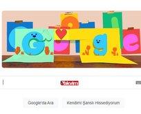 Babalar Günü Google Doodle oldu!