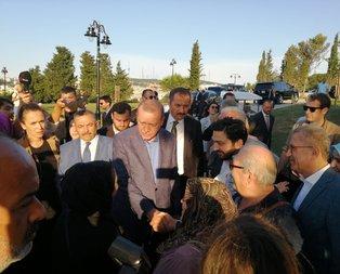 Başkan Erdoğan Nakkaştepe Millet Bahçesi'ni ziyaret etti