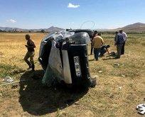 Erzincan'da feci kaza: 1 ölü 4 yaralı!