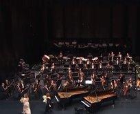 Başkan Erdoğan Külliye'de açılış konserine katıldı