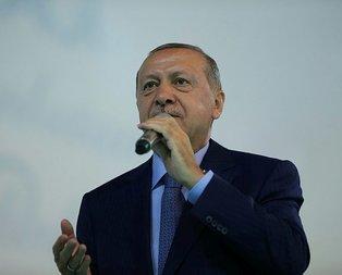 Başkan Erdoğan o mesaja kayıtsız kalmadı