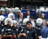 HDP provokasyonuna izin verilmedi!